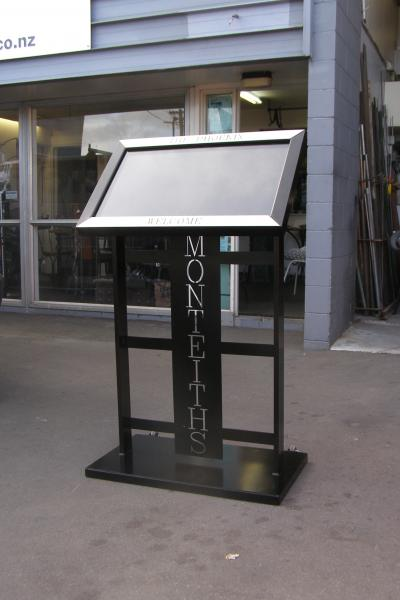 Ironic Art Products 4 Menu Stands Amp Footpath Signs